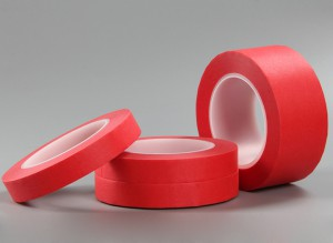 Red Circuit Plating Tapes 1280, used for PCB masking tape or other high temperature applications