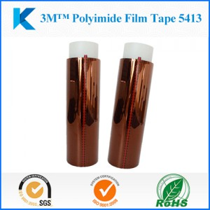 Die cutting Polyimide Film Tape 3M 5413  for  PCB  manufacture, High temperature solder masking