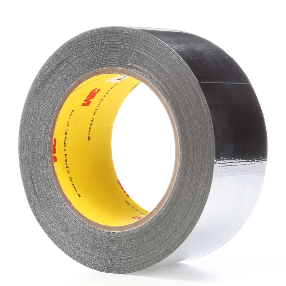 3m363l Aluminum Foil Glass Cloth Tape For High Temperature Wrap Over Automotive Wire Harness Wrapping Insulation Cables