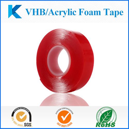 High Bond VHB Double-sided Transparent Acrylic Foam Adhesive Tape