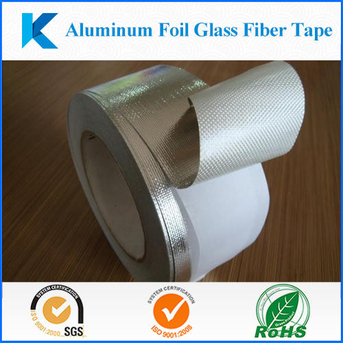 Mylar Aluminum foil Fiber glass aluminum tape, Fire-resistant tape, Insulation tape