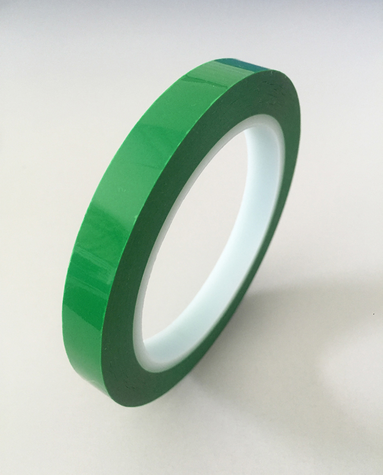 Green BOPP Tape 854PA for battery sealing