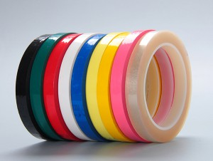 Cream Polyester Tape 3M854 with excellent chemical resistance for precious metal plating