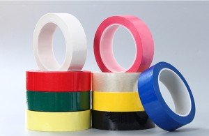 Cream Polyester Tape Excellent results in sodium hydroxide etching of aluminum