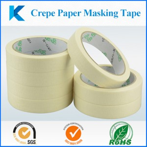 crepe paper masking tape soulutions source from www.Kingzom.com