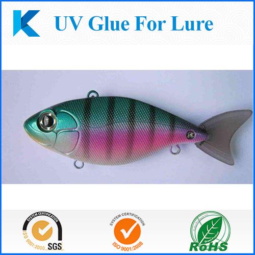 UV glue for lure making 1