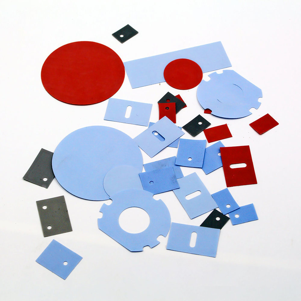 Die Cut High Temperature Solid Silicone Sheet for Heat Shielding and Cushioning