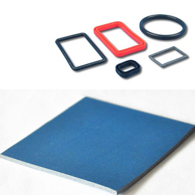 Die Cutting Thermally Conductive Silicone Sponge Sheet with UL Recognition