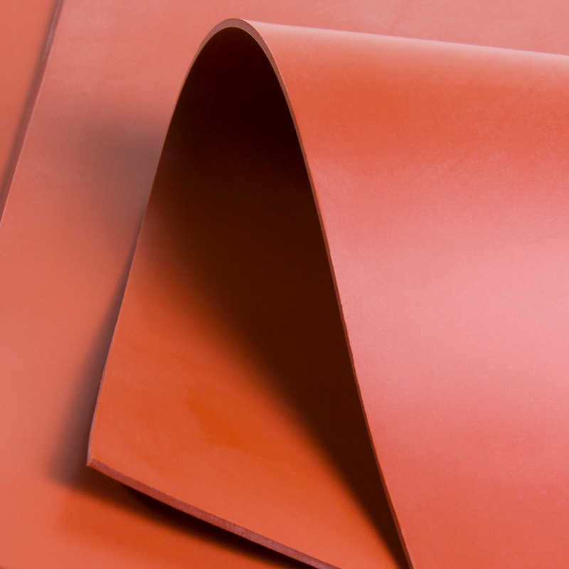 Commercial Grade Solid Silicone Sheet with Low Compression and High Temperature Resistance