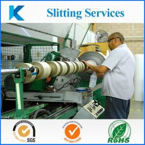 PVC tape slitting by Kingzom