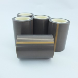 Electrical Insulating Skived Teflon PTFE Tape  Using Fluoroplastic Film with Silcon Adhesive