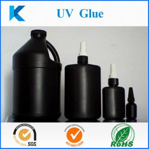 Customized UV glue adhesive or UV Resin with UV light curable for clear bonding and sealing