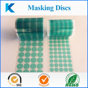 High Temperature Masking Disc-Kingzom adhesive soltuions