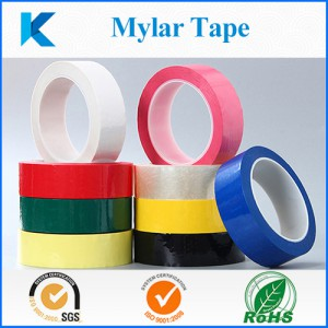 insulation tape made from polyester film and acrylic adhesive