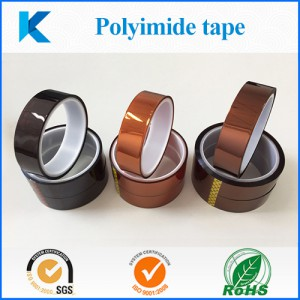 High quality polyimide film silicone tape for SMD packing and transformer manufacturing