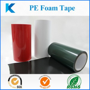 PE foam acrylic adhesive tape soulutions source from www.Kingzom.com