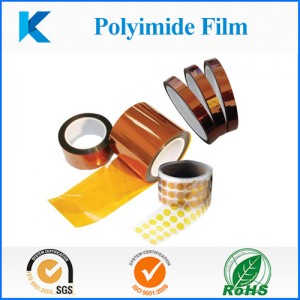 Polyimide film die cut