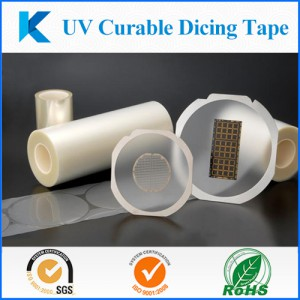 UV release dicing tape solutions