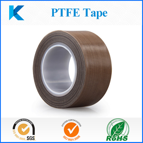 High temperature PTFE film/cloth/fabric tape with adhesive for heat sealing