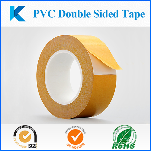 PVC Double Sided Tape, Strong Adhesion Double Adhesive Tape