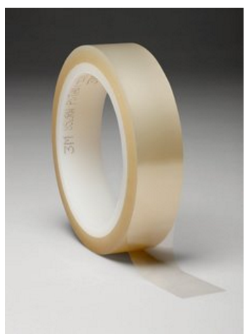 Clear Polyester/Silicone Tapes for PCB masking solder