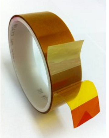 Linered Low Static Polyimide Film Tape 5433 Amber