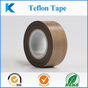 PTFE Tape with silicone adhesive, Teflon Tape, High Temperature Tape, Heat sealing tapes