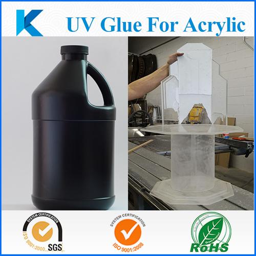 UV curing resin adhesive glue for acrylic bonding