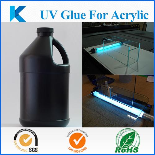 UV glue for glass bonding