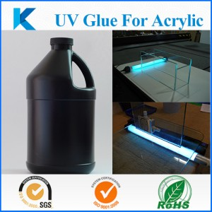 High performance UV Curing glue for glass bonding