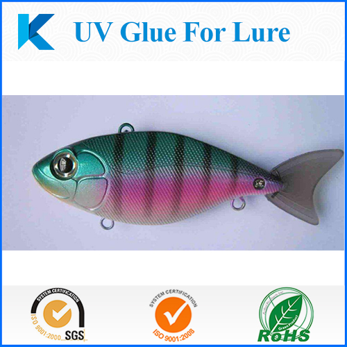 UV glue for lure making 1