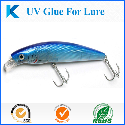 Fast Clear Curing UV resin/glue for fishing Lure/Bait eyes making